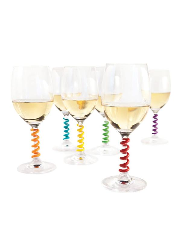 Wine Stem Spring Charms