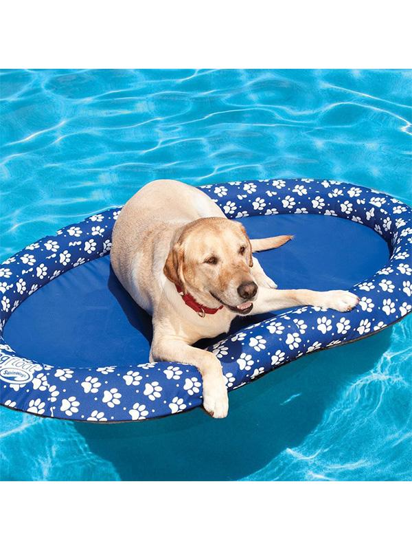 Paw Print Paddle Paws Dog Float