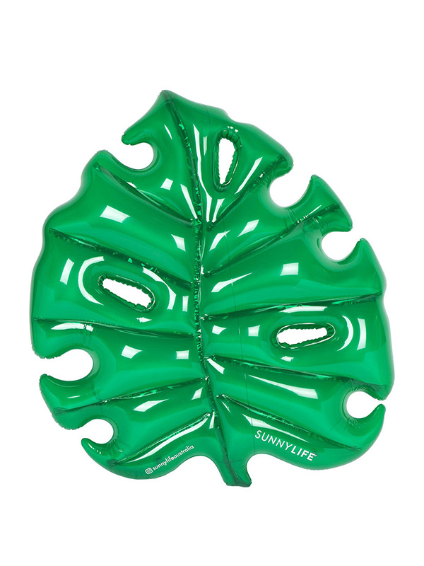 SUNNYLIFE Luxe Lie-On Inflatable Monstera