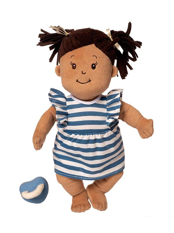 Manhattan Toy Baby Stella Doll with Brown Hair