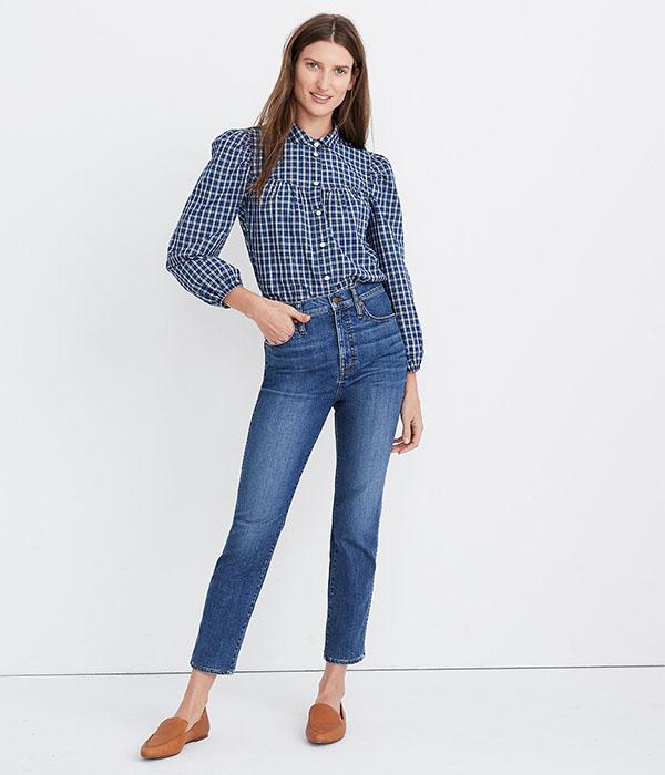 Stovepipe Jeans in Antoine Wash