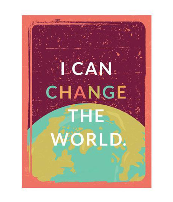 I Can Change the World poster