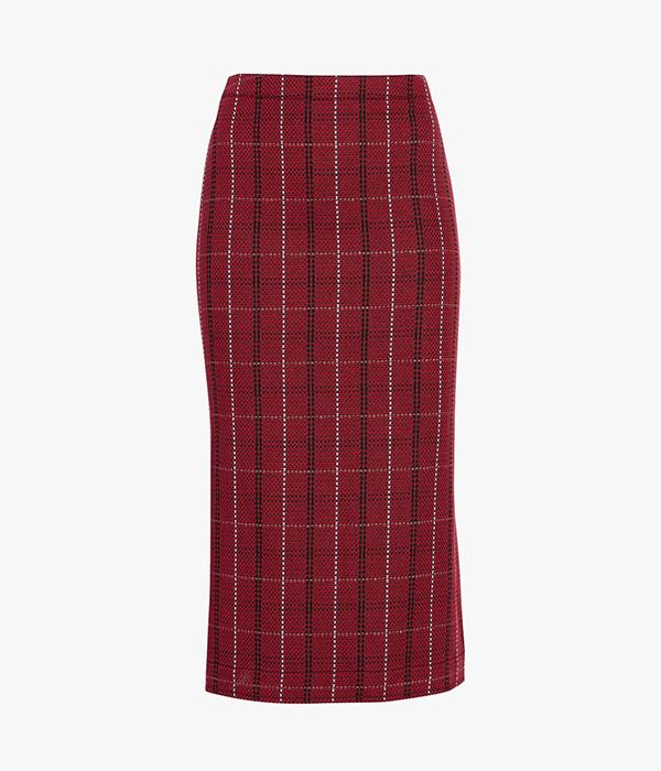 McQ Alexander McQueenKick Back Godet Skirt