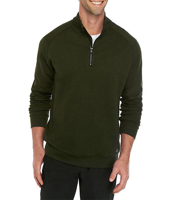 ZELOS Endurance Fleece Quarter Zip Sweatshirt - $50.00 $9.00