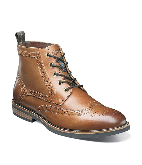 Nunn Bush® Odell Wingtip Dress Boots