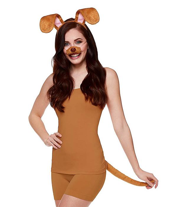 Brown Dog Costume Kit