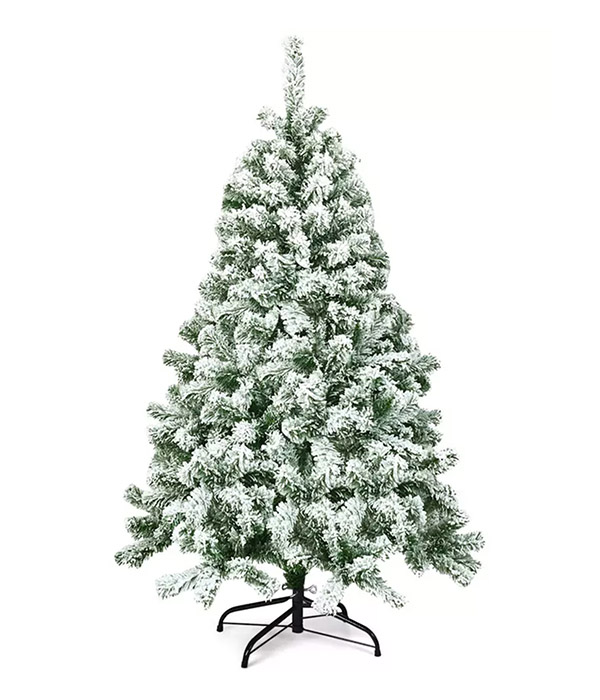 Costway 4.5FT Snow Flocked Artificial Christmas Tree