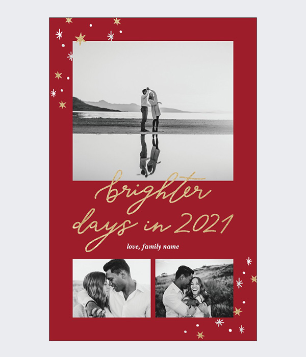 Brighter Days in 2021 Card
