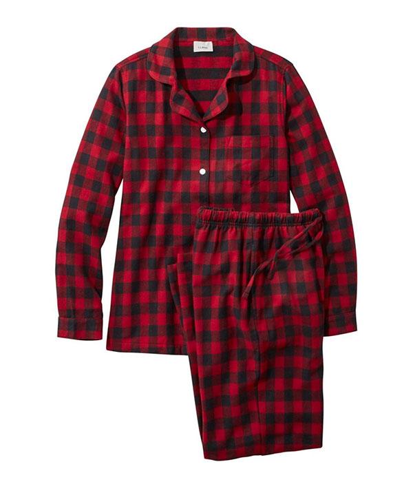 L.L.Bean Flannel Pajamas