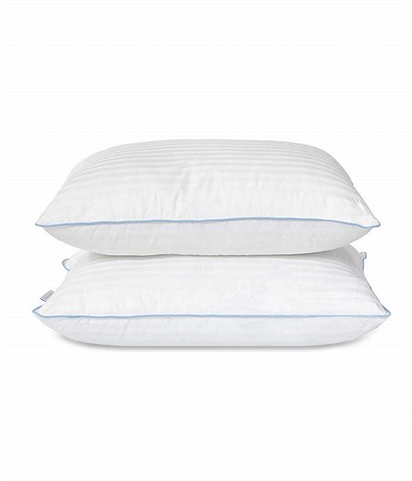 eLuxury Alternative Density 2 Piece Pillow Set
