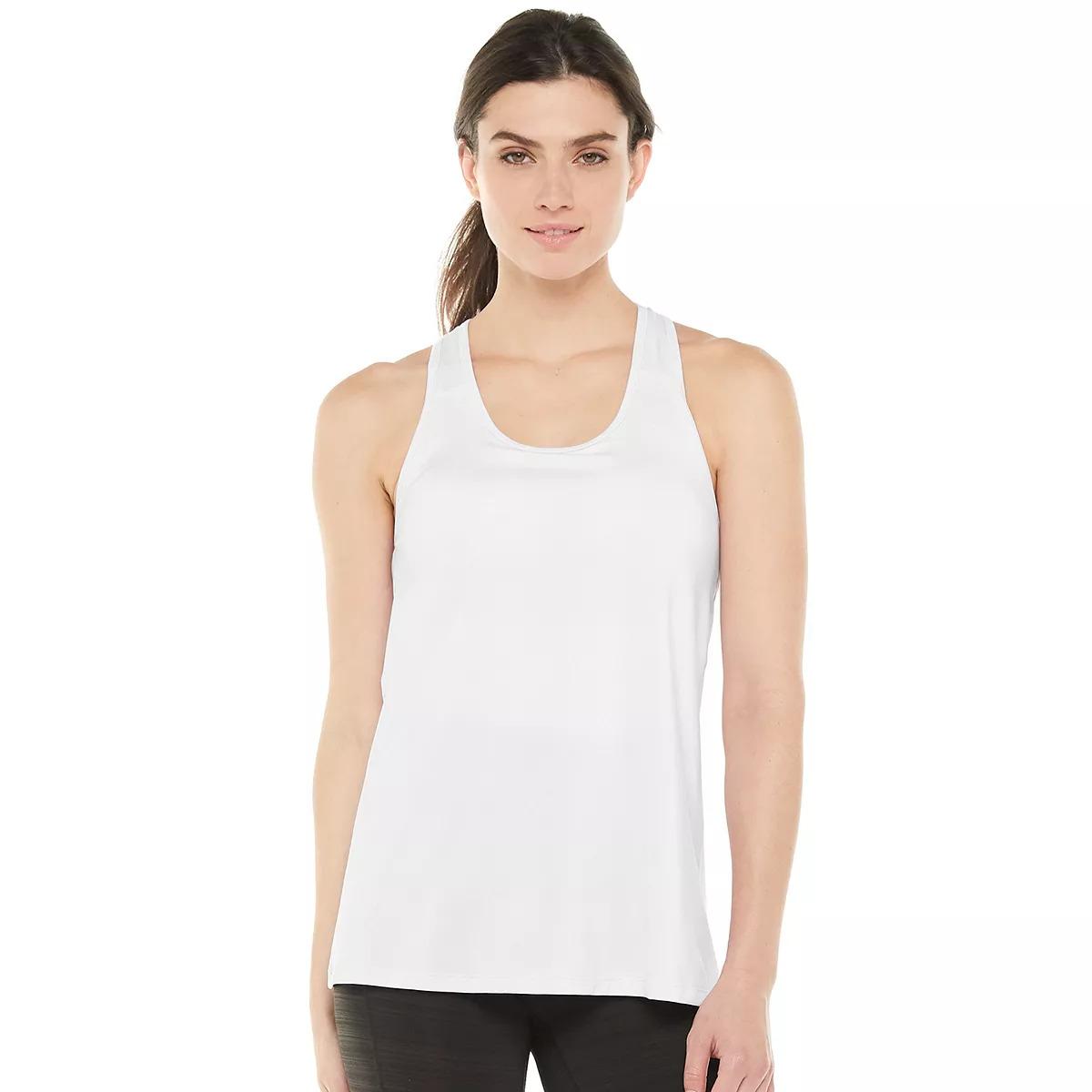 athelisure wear - Fila Sport Scoop-Back Shelf Bra Tank Top
