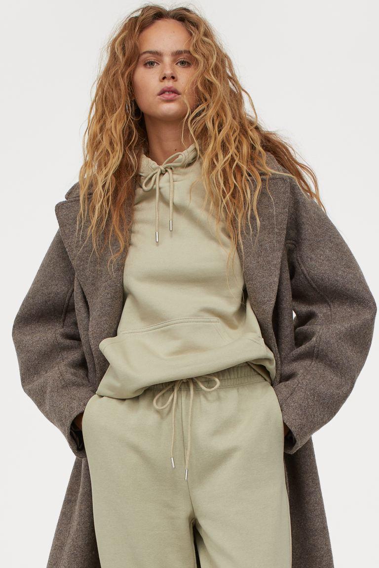 athelisure wear - H&M Cotton-Blend Sweatpants