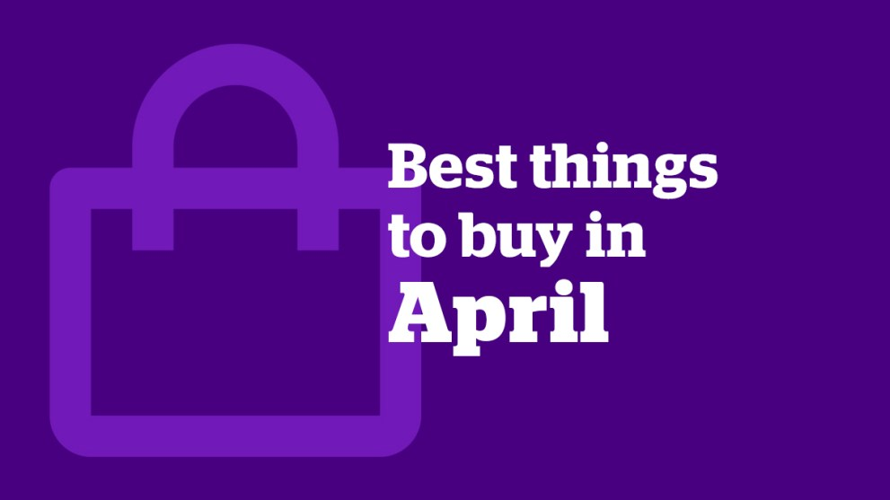 The 5 Best Things to Buy in April