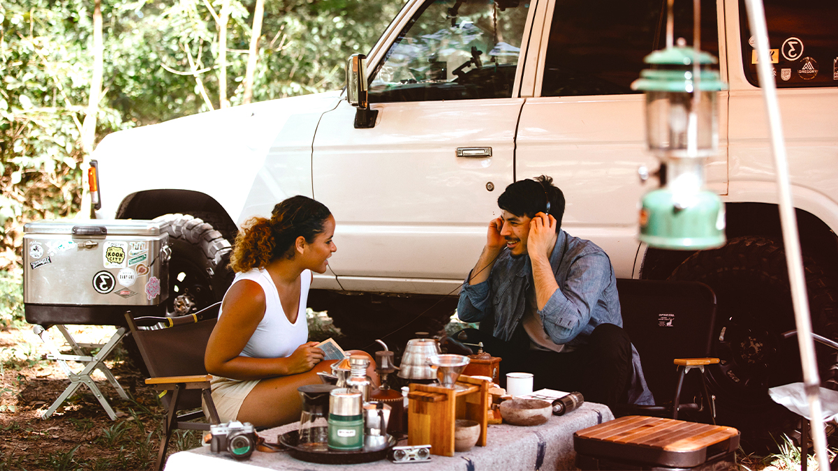 camping essentials for couples