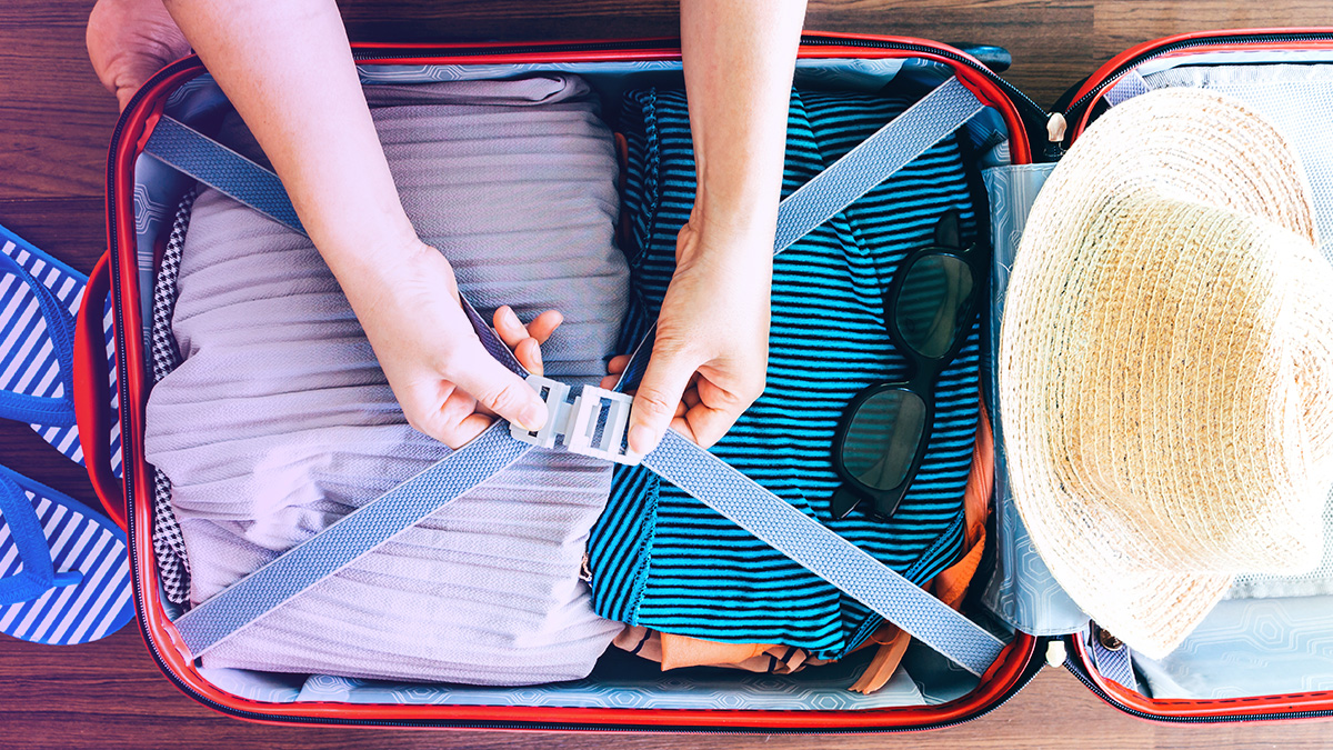 Suitcase Packing For Travel Essentials