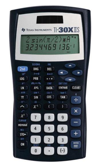 Texas Instruments TI-30XIIS Solar Scientific Calculator
