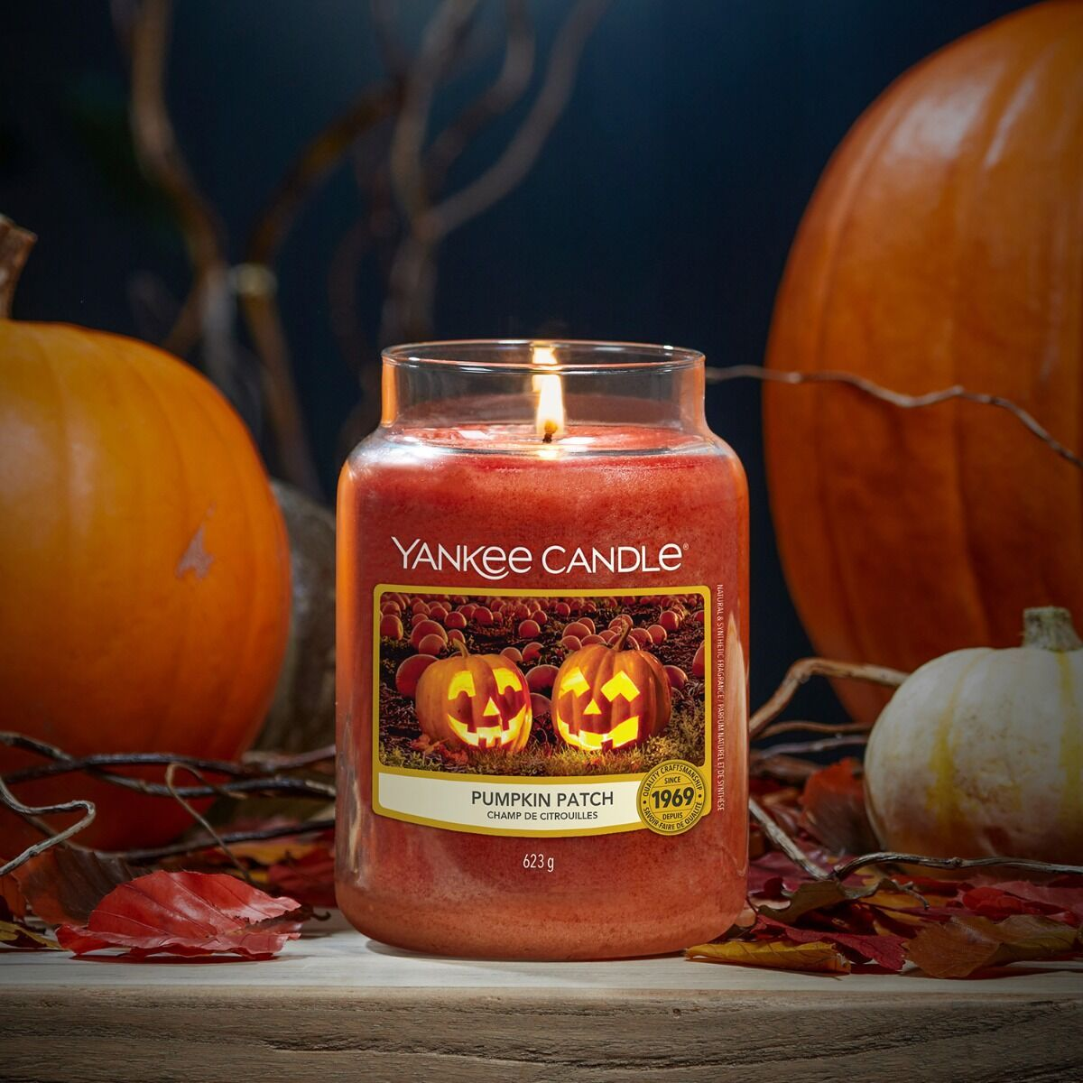 Yankee Candle Pumpkin