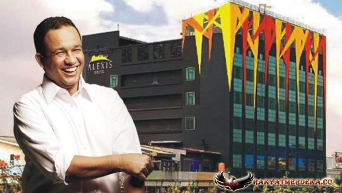 Gubernur Anies versus Alexis Kian Memanas
