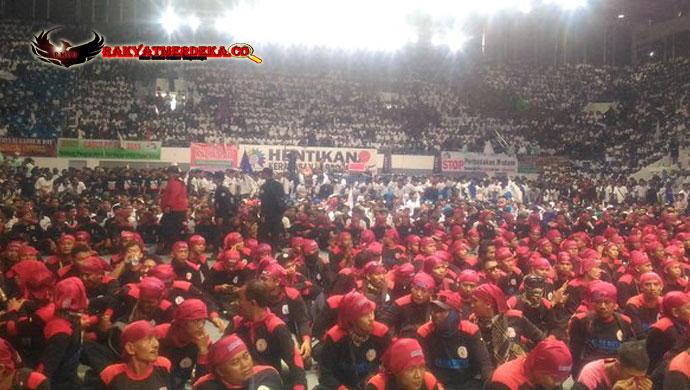 Lain Dari Yang lain, Deklarasi Buruh Dukung Prabowo Di Pungut Biaya 15Rb Perorang