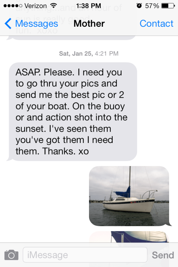 Personalized Gift Text Message