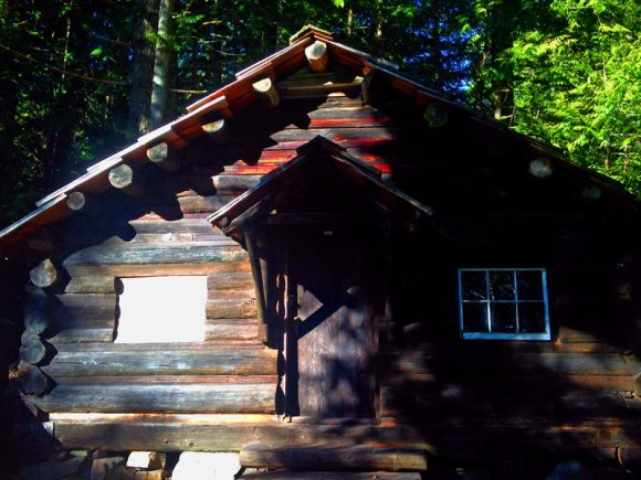 Old Ranger Station at Lake