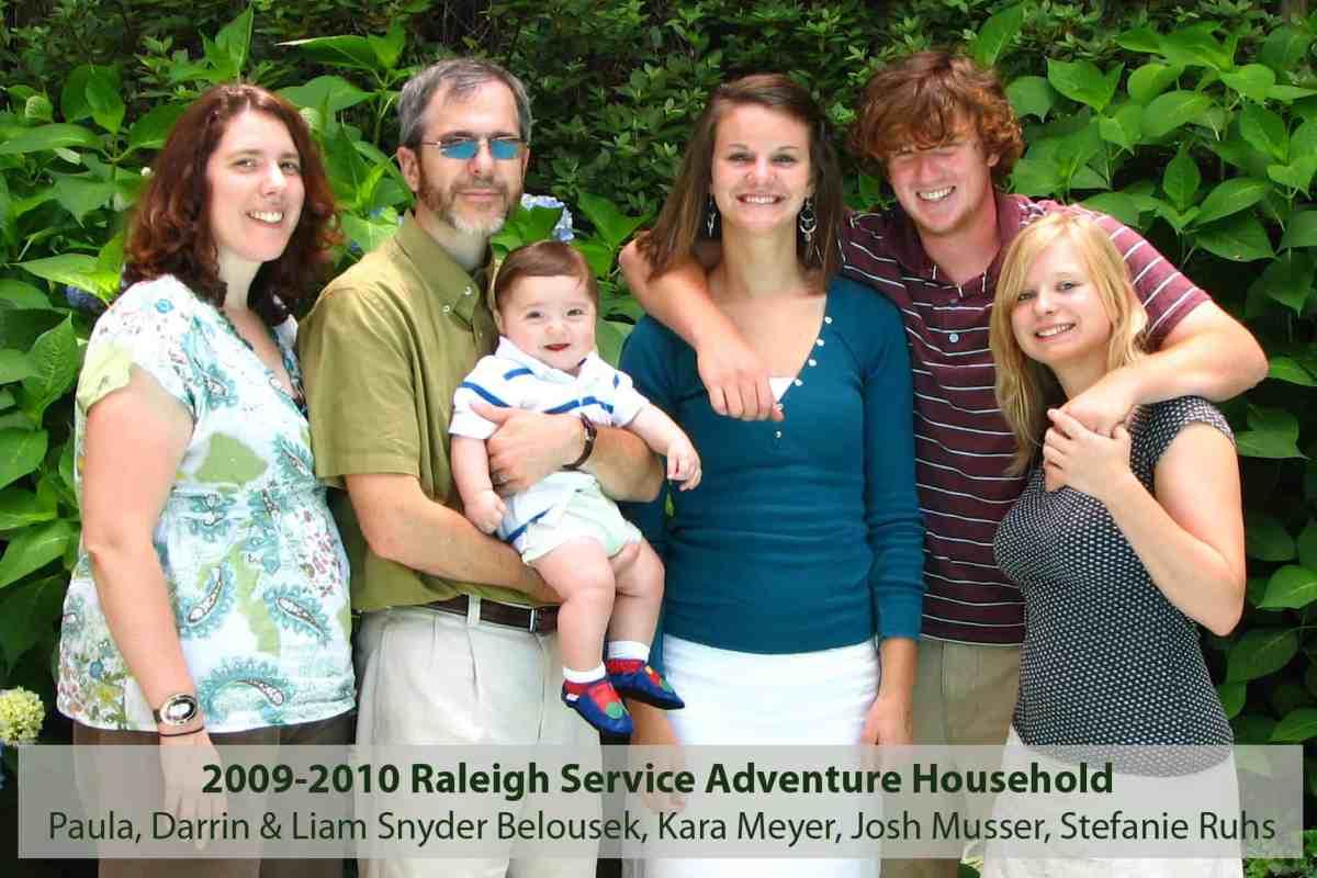 2009-2010 Service Adventure household