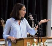 Melissa preaching April 1, 2018