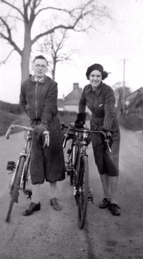 Aunty Kathleen and Uncle Charles, Dad's Pre National service Tour 1948