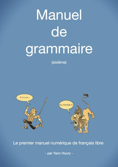 Couverture du manuel de grammaire