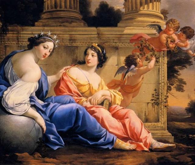 Les Muses Uranie Et Calliope