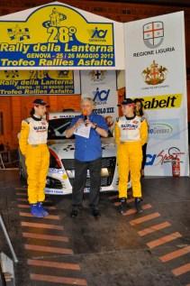 Butterfly Motorsport Brc premiazione Rally Lanterna
