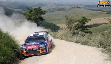 3 test Citroen WRC di Simone Trapassi