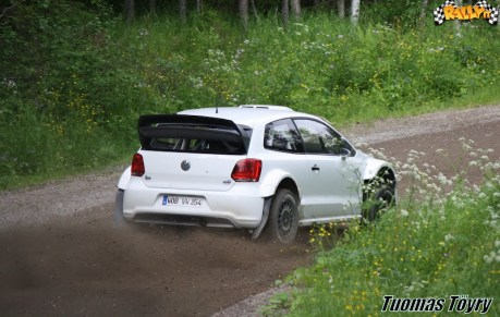 6 test Polo RS WRC 2012
