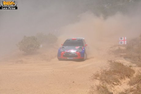 207 Rally Itlaia Sardegna 2013 WRC Luca Pirina