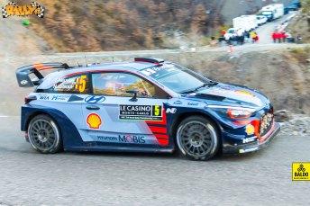 Le foto del Rally di Monte Carlo 2017 scattate da Simone Baldo per la galleria fotografica di Rally.it