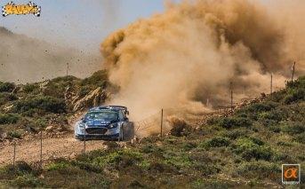Le foto del Rally Italia Sardegna 2017 scattate da Sasa Bremec per Rally.it
