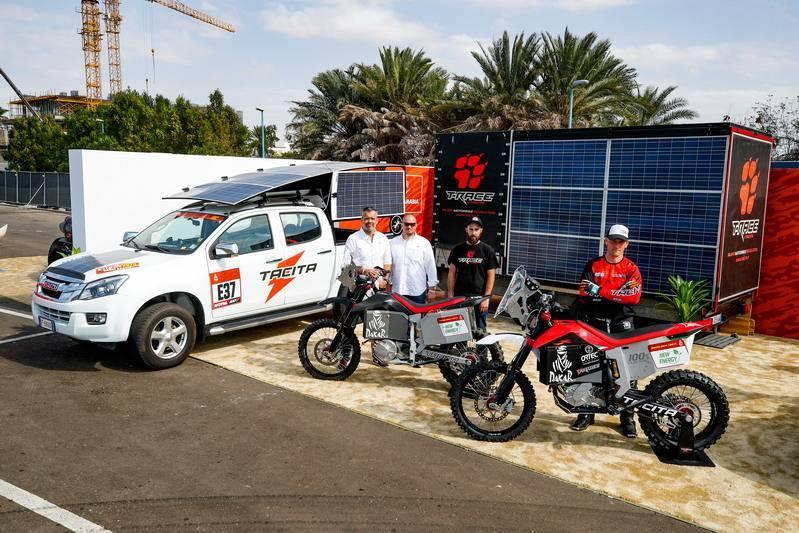 Dakar électrique 2020