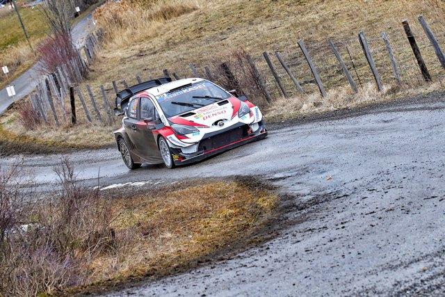 Elfyns Evans - Toyota Yaris WRC - Rallye Monté Carlo 2020