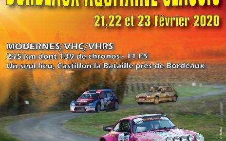 7e Rallye national Bordeaux Aquitaine Classic