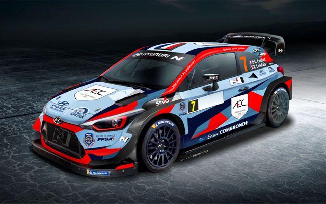 Pierre-Louis Loubet Rally & Vincent Landais - Hyundai WRC