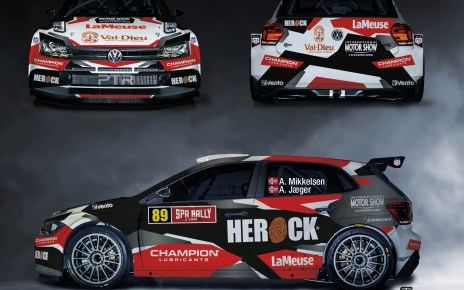Andreas Mikkelsen - Spa Rally 2020 - Polo R5