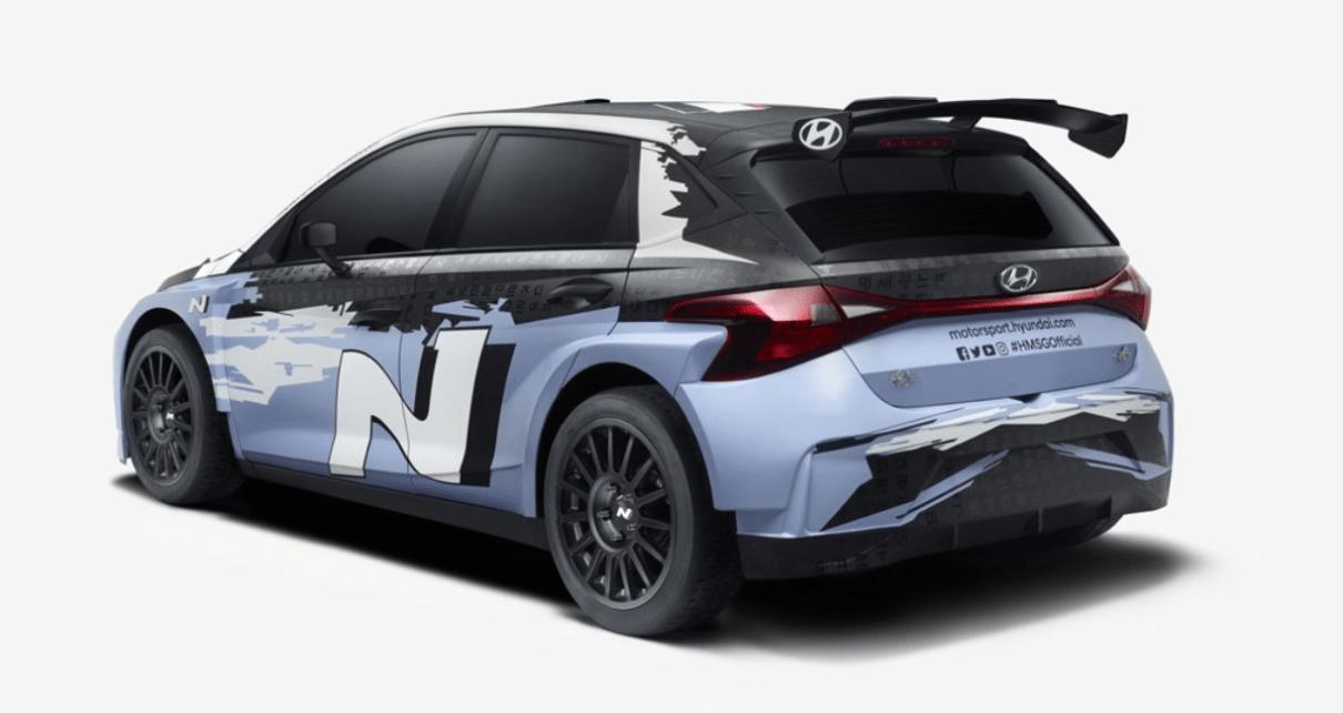 Hyundai i20 Rally 2