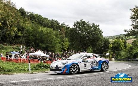 François Delecour - Alpine GT - Rally Légend 2020