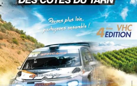 34ème Rallye Moderne et 4ème Rallye VHC - Liste des engagés
