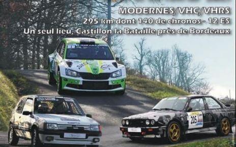 Rallye Bordeaux Aquitaine Classique 2021