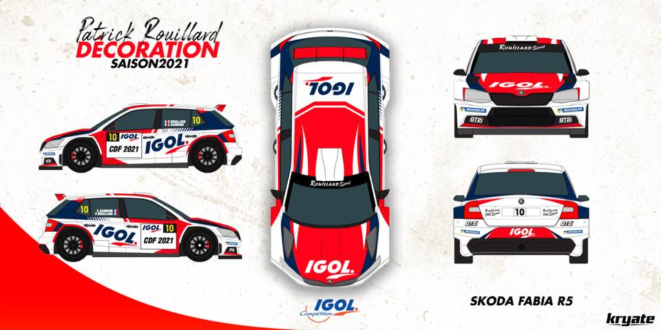 Patrick Rouillard en Championnat de France 2021