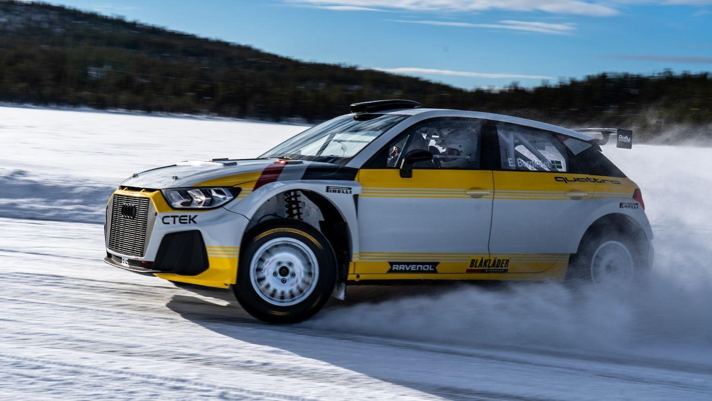 Audi A1 Quattro Rally 2