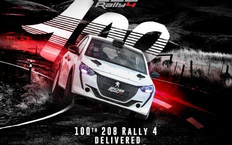 La 100 ème 208 Rally 4 va être livrée au Pérou !