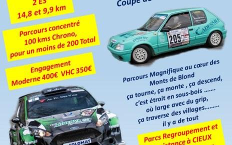 8ème Rallye Cieux Monts de Blond