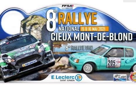 Rallye National Cieux - Monts de Blond 2021